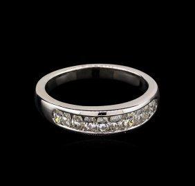 1.20ctw Diamond Ring - 18kt White Gold