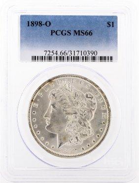 1898-o Pcgs Ms66 Morgan Silver Dollar