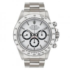 Rolex Stainless Steel Daytona Cosmograph Men's