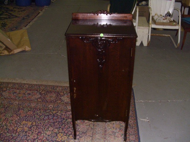antique sheet music cabinet 2