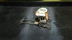 Small Sterling Asian Rickshaw