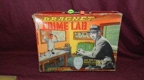 Childs Toy Box For Dragnet Crime Lab (empty)