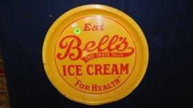 Vintage Ice Cream Advertising Tray