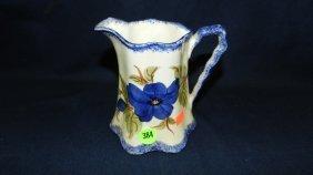 Antique Porcelain Blueridge Pitcher