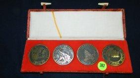 4 Piece Asian Coins/medals?