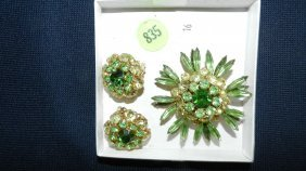 Great Collection Of Estate Jewelry, Brooch & Earri