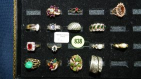Great Collection Of Estate Jewelry, Rings