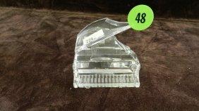 Great Marked Swarovski Crystal Piano No Box