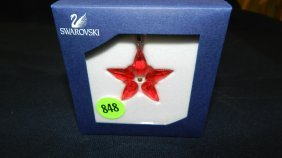 Great Stamped Swarovski Ornament