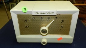 Mid Century Packard Bell Desk Top Radio