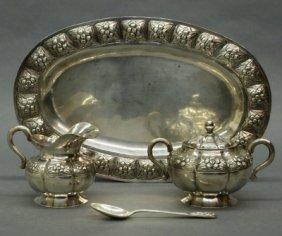 Mexican Silver Tea Set