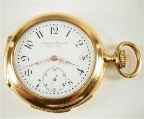 18k Audemars Piquet & Co Minute Repeater Pocket Watch