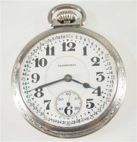 "Hampden ""special Railway"" Pocket Watch"