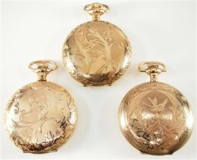 Three Lady's Watches