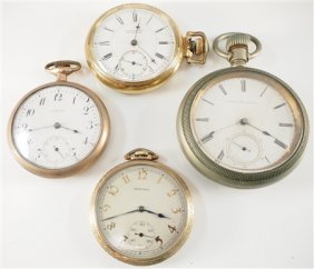 4 Howard Pocket Watches
