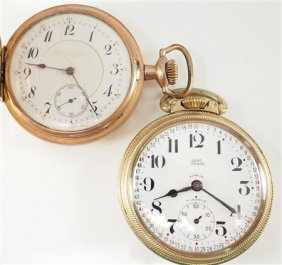 2 Swiss Pocket Watches