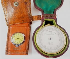 Barometer & Travel Watch