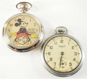 2 Ingersoll Pocket Watches